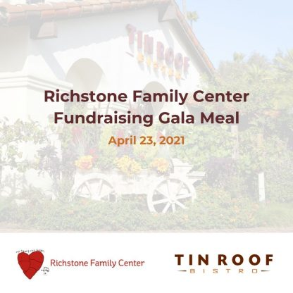 Richstone Family Center Fundraising Gala Meal